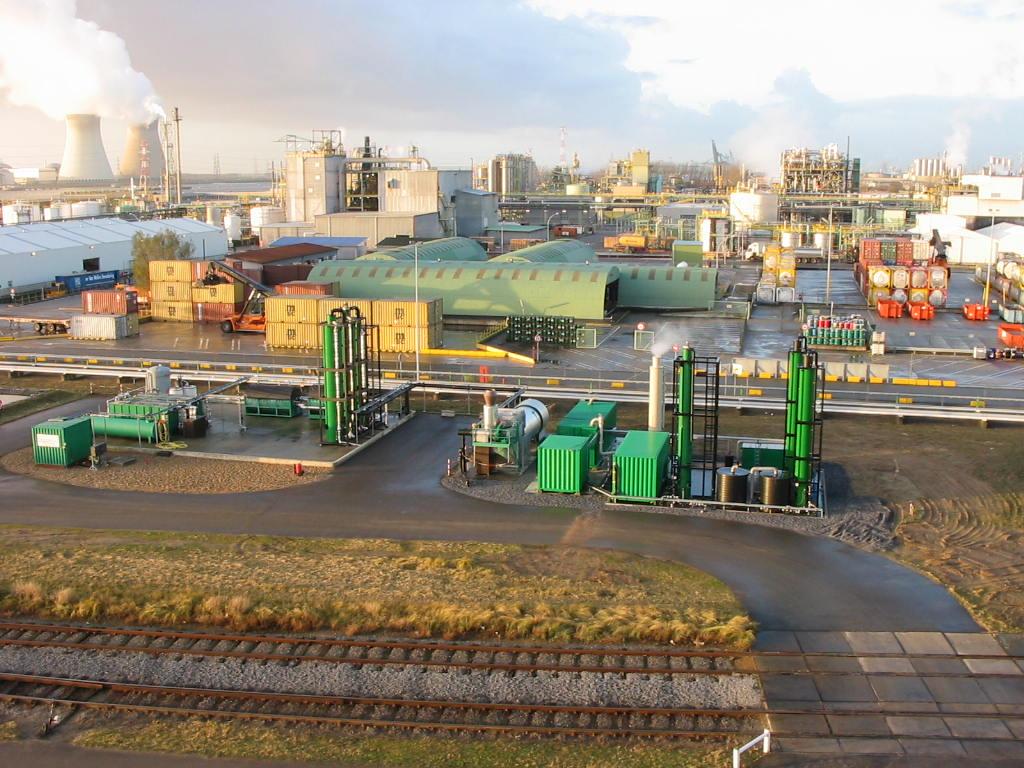Complexe waterzuivering Antwerpen
