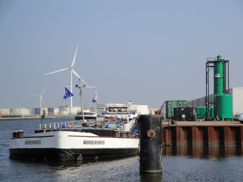 Mobiele waterzuivering Amsterdam