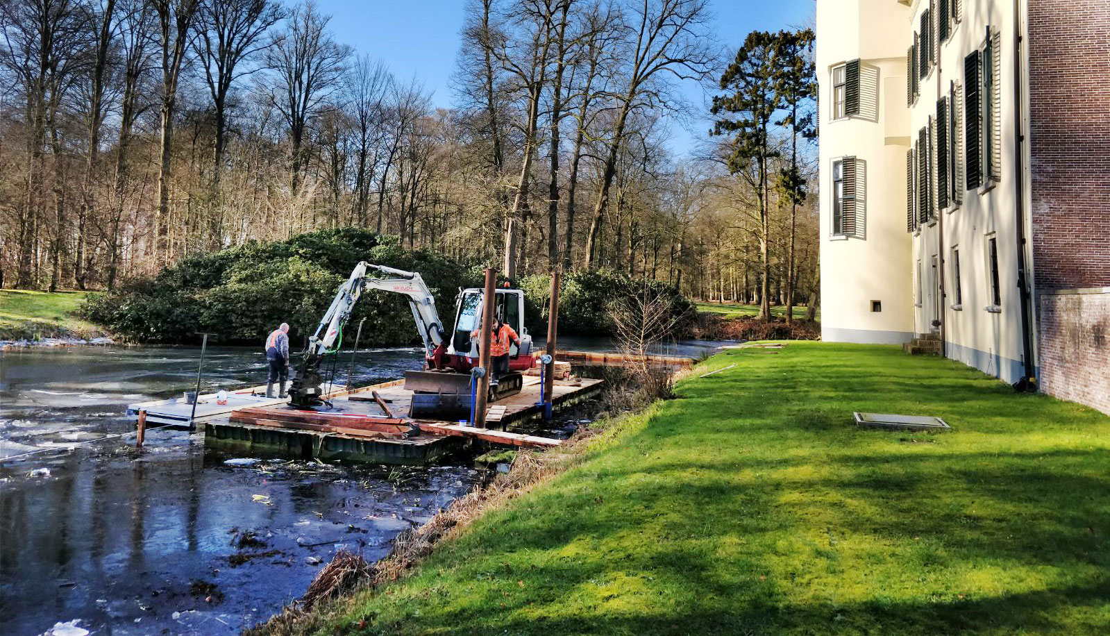 Constructed wetland in Amersfoort en Doorn