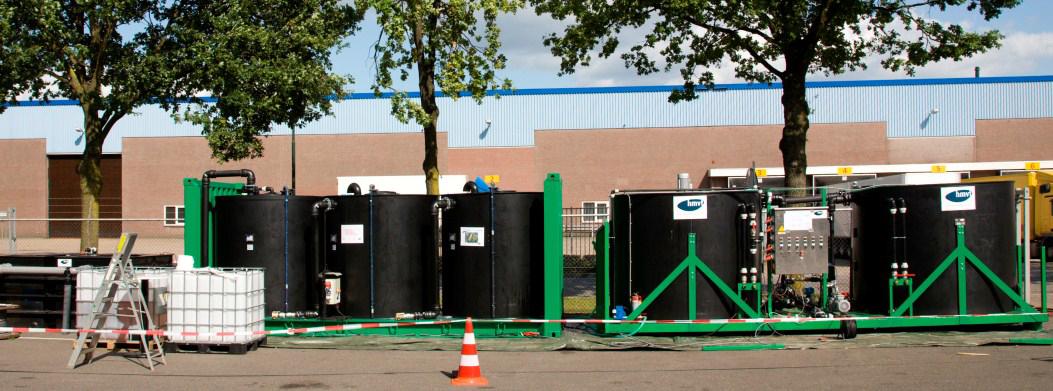 Bioschermen Vanderlande Industries Veghel