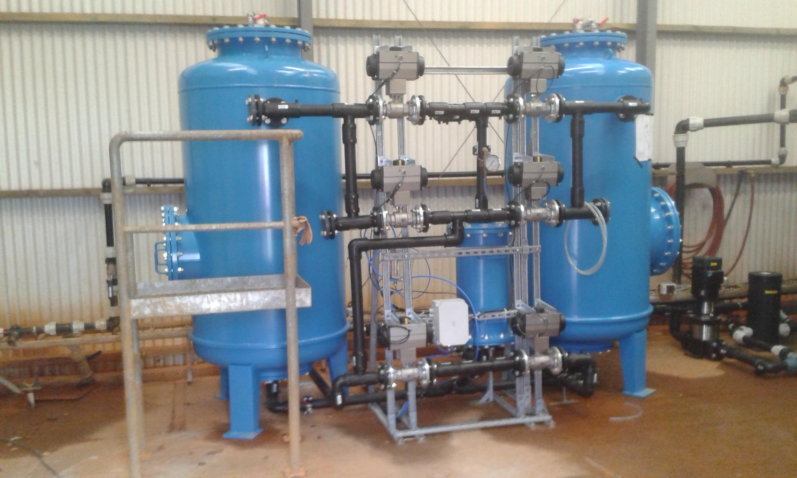 Ontijzering van grondwater als proceswater