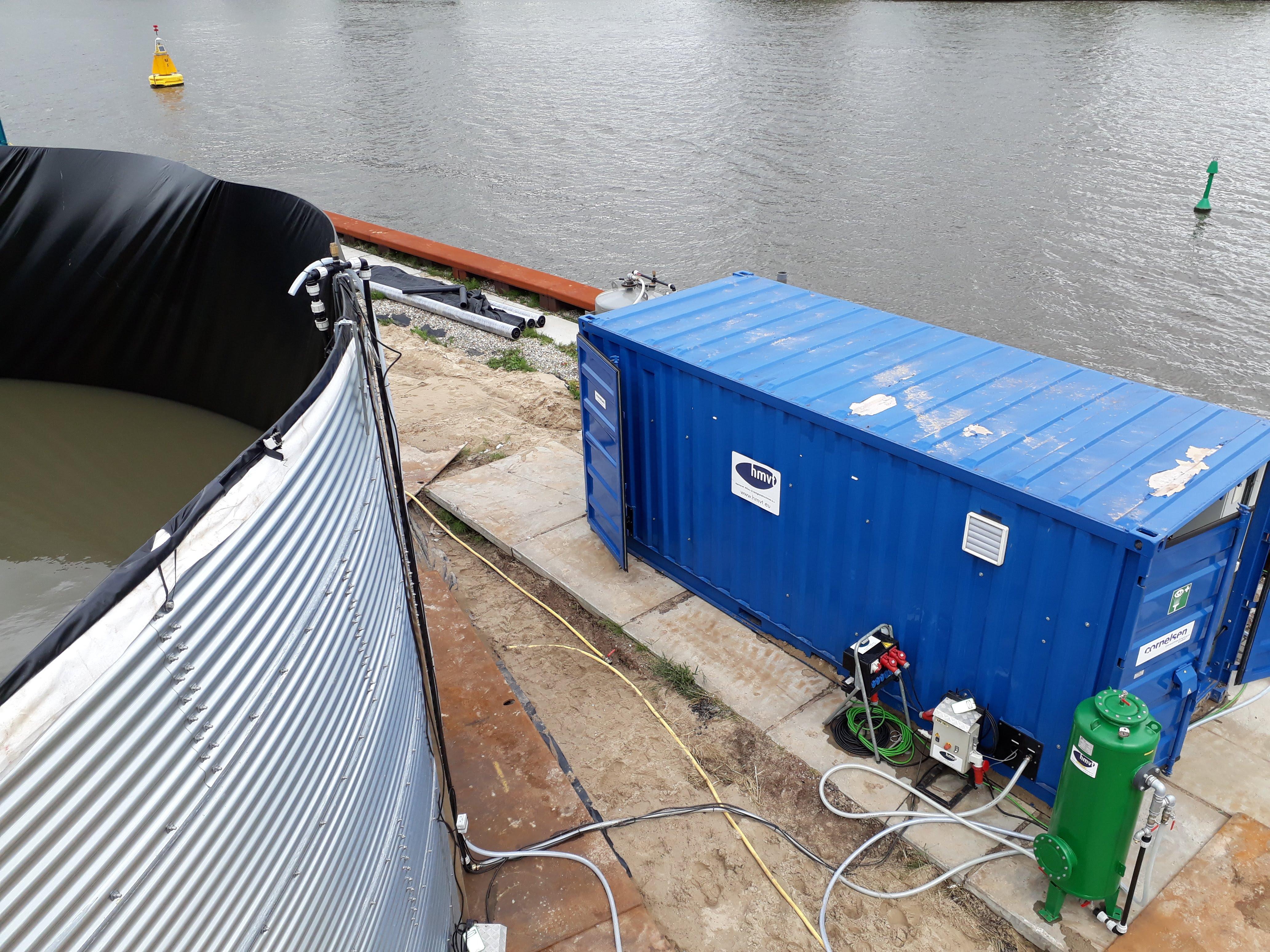 Waterzuivering voor PFAS bodemsanering in Amsterdam