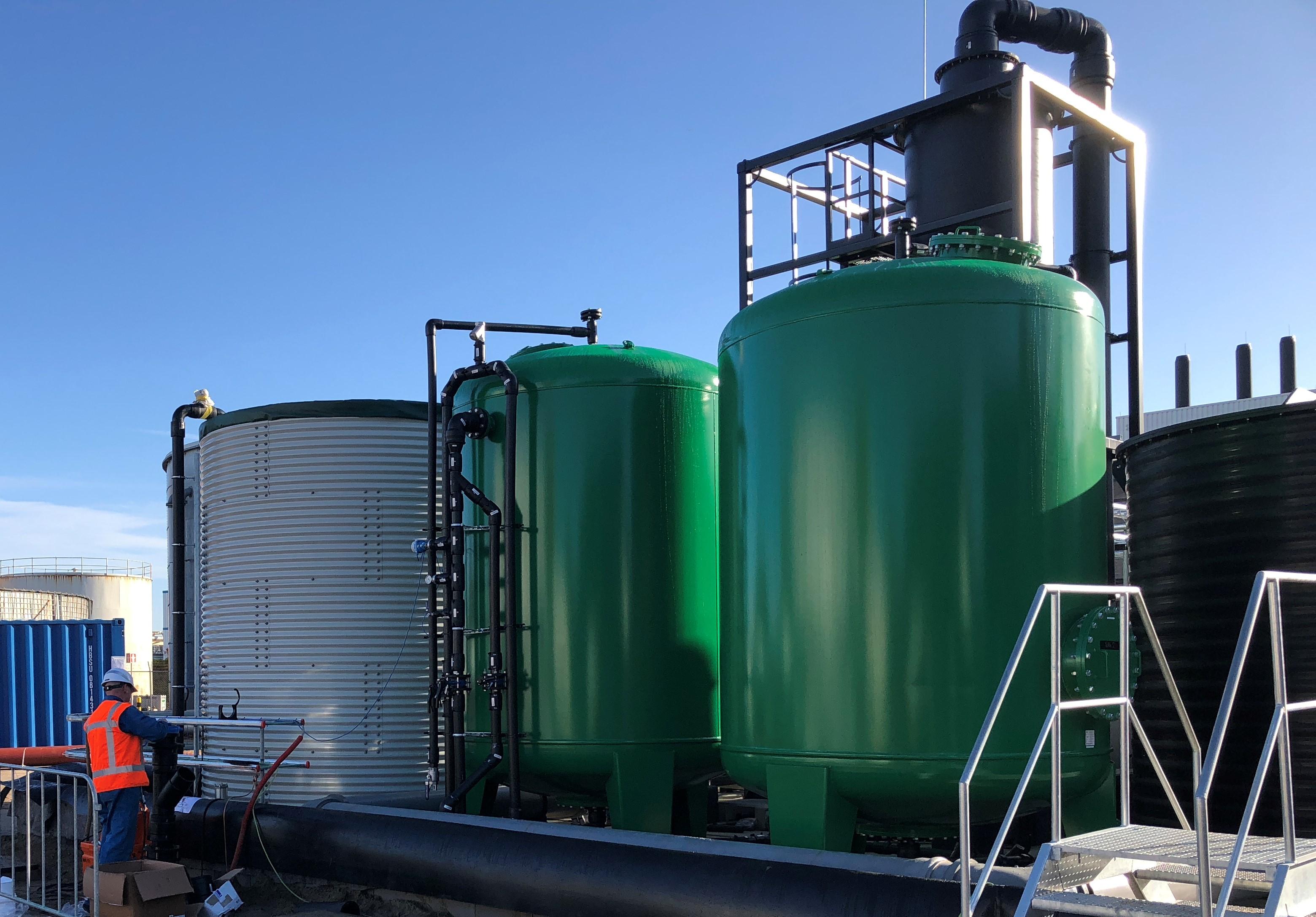 Grondwaterzuiveringsinstallatie Zuid-Nederland